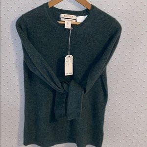 ELLEN TRACY 100% Cashmere Sweater Size Small NWT